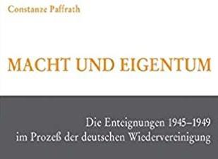 Wirbel um das Paffrath-Buch – Enteignungen