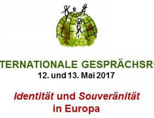 21. Internationale Gesprächsrunde – Identität und Souveränität in Europa