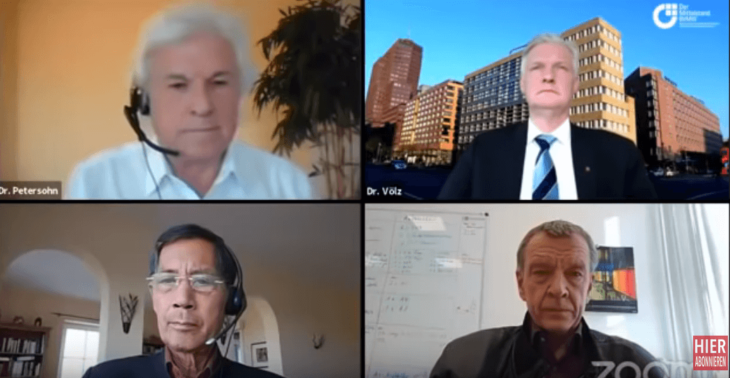 Expertengespräch – Prof. Püschel, Prof Bhakti, Dr. Petersohn, Dr. Völz