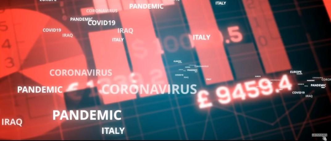 Zahlenkonfetti der Corona-Prognosen